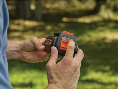 36 Volt Black + Decker Akku-Rasentrimmer Test - Bild zur Testkategorie Akku- und Ladetechnologie