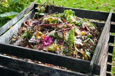 Verwendung von Herbstlaub als Kompost