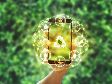 Smart Garden application areas on mobile phone